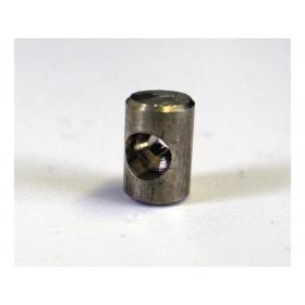 Douille de cable cylindrique 5x7.5mm Venhill laiton 20 pièces