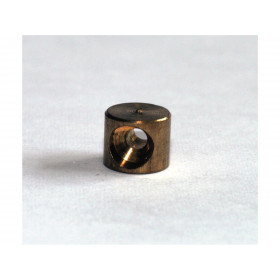 Douille de cable cylindrique 6x5mm Venhill laiton 20 pièces