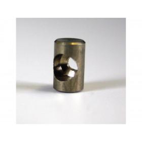 Douille de cable cylindrique 8x13mm Venhill laiton 20 pièces