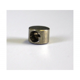Douille de cable cylindrique 6x4.2mm Venhill laiton 20 pièces