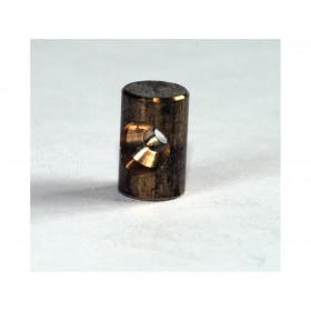 Douille de cable cylindrique 6x10mm Venhill laiton 20 pièces