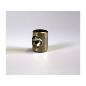 Douille de cable cylindrique 6 x 8mm Venhill laiton 20 pièces