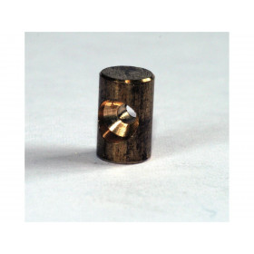 Douille de cable cylindrique 4.8 x 4.8mm Venhill laiton 20 pièces
