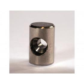 Douille de cable cylindrique 9.5 x 13mm Venhill laiton 20 pièces