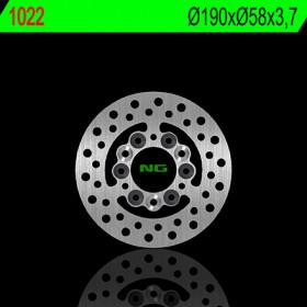 Disque de frein universel NG 1022 rond
