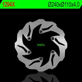 Disque de frein arrière NG 1294X pétale fixe Beta