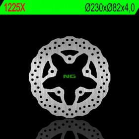 Disque de frein arrière NG 1225X pétale fixe Kawasaki ZXR750