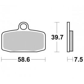 Plaquettes de frein BRAKING 955CM44 métal fritté KTM/Husqvarna
