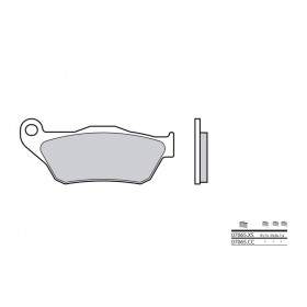 Plaquettes de frein BREMBO 07065CC organique