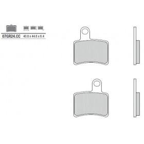 Plaquettes de frein BREMBO 07GR24CC organique Beta Rev 3 250
