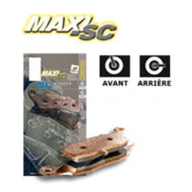 Plaquettes de frein CL BRAKES 3109MSC métal fritté