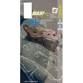 Plaquettes de frein CL BRAKES 3106MSC métal fritté