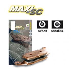 Plaquettes de frein CL BRAKES 3105MSC métal fritté