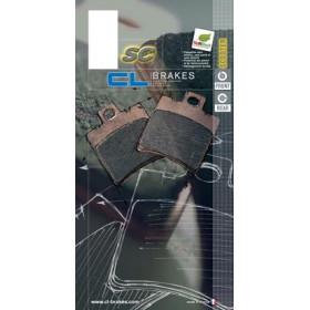 Plaquettes de frein CL BRAKES 3096MSC métal fritté