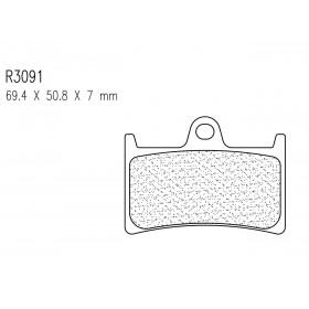 Plaquettes de frein CL BRAKES 3091MSC métal fritté