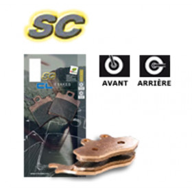 Plaquettes de frein CL BRAKES 3081SC métal fritté