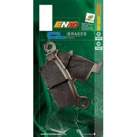 Plaquettes de frein CL BRAKES 2398EN10 métal fritté