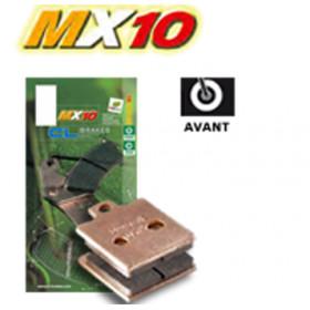 Plaquettes de frein CL BRAKES 2387MX10 métal fritté