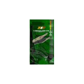 Plaquettes de frein CL BRAKES 2377EN10 métal fritté
