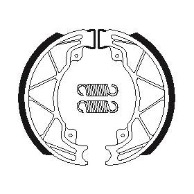 Machoires de frein TECNIUM BA205 organique