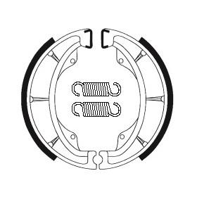 Machoires de frein TECNIUM BA202 organique