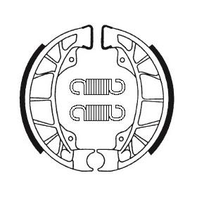 Machoires de frein TECNIUM BA195 organique