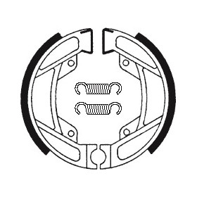 Machoires de frein TECNIUM BA1194 organique