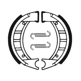 Machoires de frein TECNIUM BA191 organique