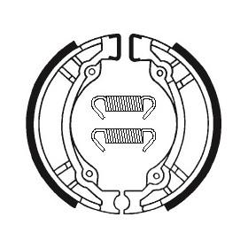 Machoires de frein TECNIUM BA188 organique