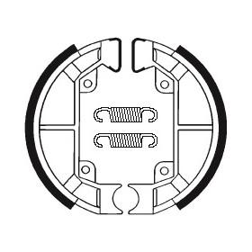 Machoires de frein TECNIUM BA187 organique
