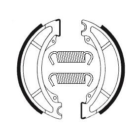 Machoires de frein TECNIUM BA036 organique