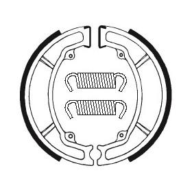Machoires de frein TECNIUM BA034 organique