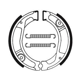 Machoires de frein TECNIUM BA029 organique