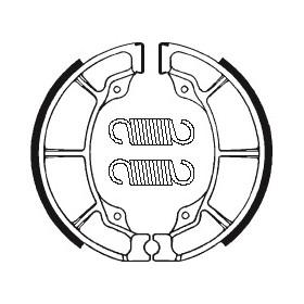 Machoires de frein TECNIUM BA019 organique