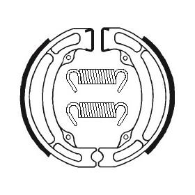 Machoires de frein TECNIUM BA017 organique
