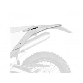 Garde-boue arrière + plaques latérales POLISPORT blanc Beta