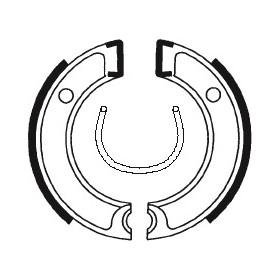 Machoires de frein TECNIUM BA112 organique