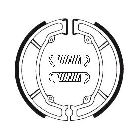 Machoires de frein TECNIUM BA104 organique