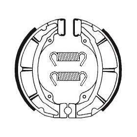 Machoires de frein TECNIUM BA103 organique