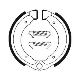 Machoires de frein TECNIUM BA101 organique