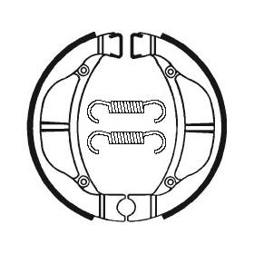 Machoires de frein TECNIUM BA093 organique