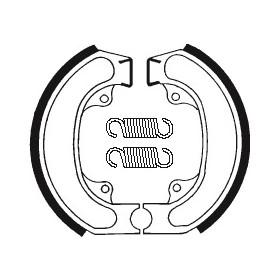 Machoires de frein TECNIUM BA080 organique