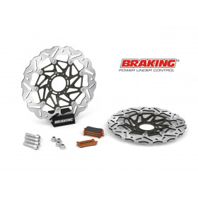 Kit Oversize BRAKING SK2 Ø320mm Honda CRF1000L Africa Twin