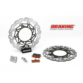 Kit Oversize BRAKING SK2 Ø320mm Yamaha MT-09