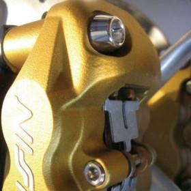 Vis d'étrier de frein avant Pro-Bolt inox par 4 Aprilia RSV1000 - Ducati Hypermotard 1100S