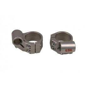 Bracelets LSL Speed Match Ø50mm hauteur +16mm/4° argent