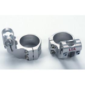 Bracelets LSL Offset High Ø56mm hauteur +37mm/déport +25mm/5° argent