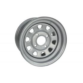 Jante utilitaire ITP acier gris quad 12x7 4x100 2+5