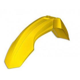 Garde-boue avant UFO jaune restylé Suzuki RM85