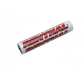 Mousse de guidon RENTHAL SX 240mm blanc/rouge